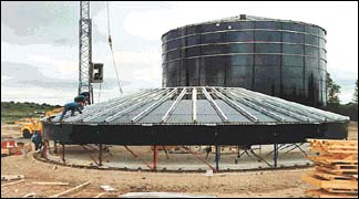 May 2001 Growing Use Of Glass Fused To Steel Tanks For
