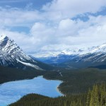 Peyto Lake is not a renewable water source