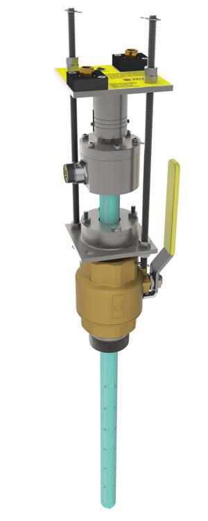 A picture of an electromagnetic flow meter