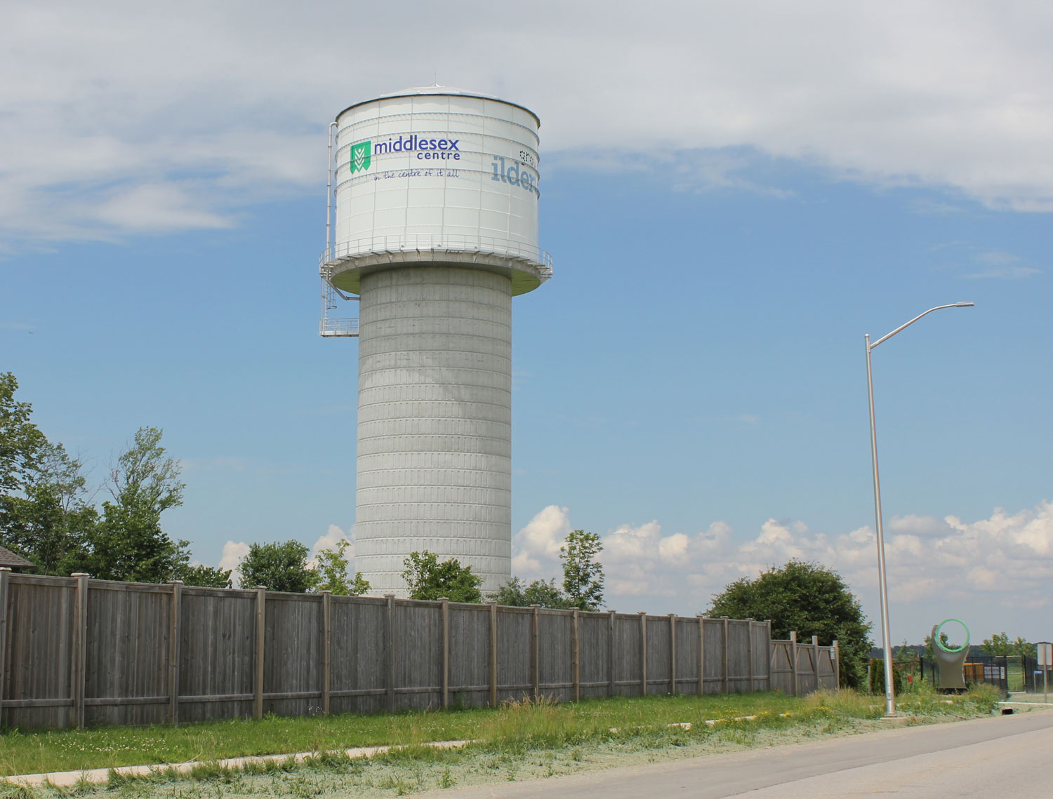 Ilderton water tower