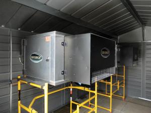 Mounted hydroxyl generators
