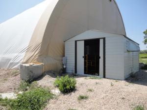 Hydroxyl generator shed