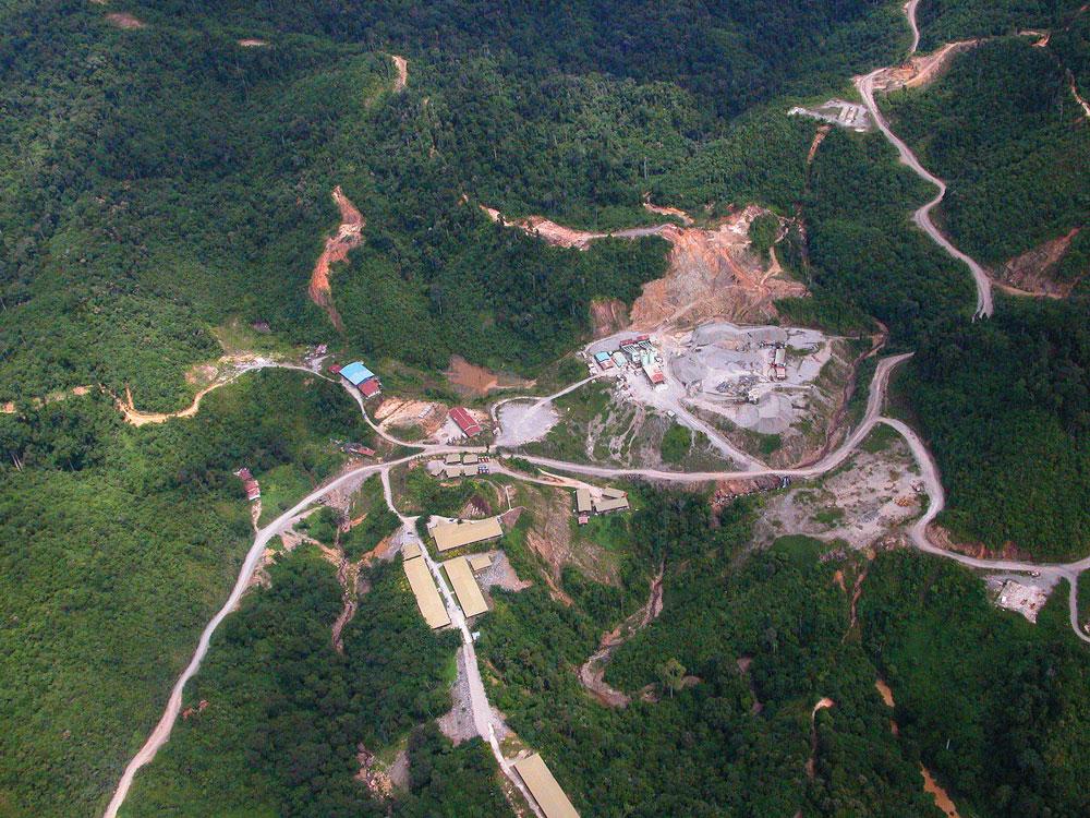 photo of remote quarry