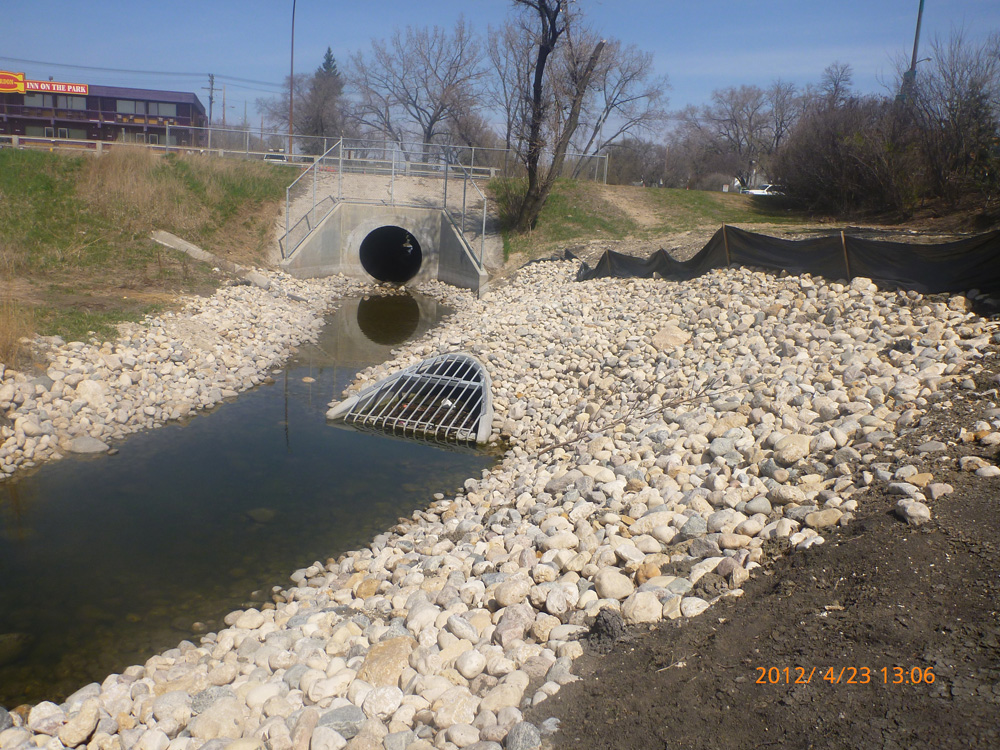 Truro Creek culvert