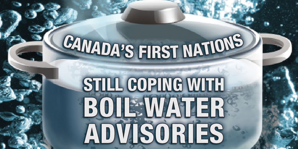 First Nations drinking water