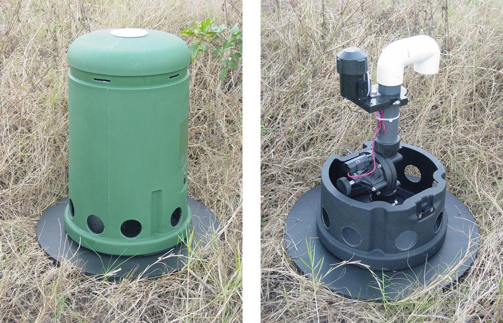 automatic water main flushing units