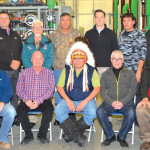 James Smith Cree Nation water treatment plant group shot