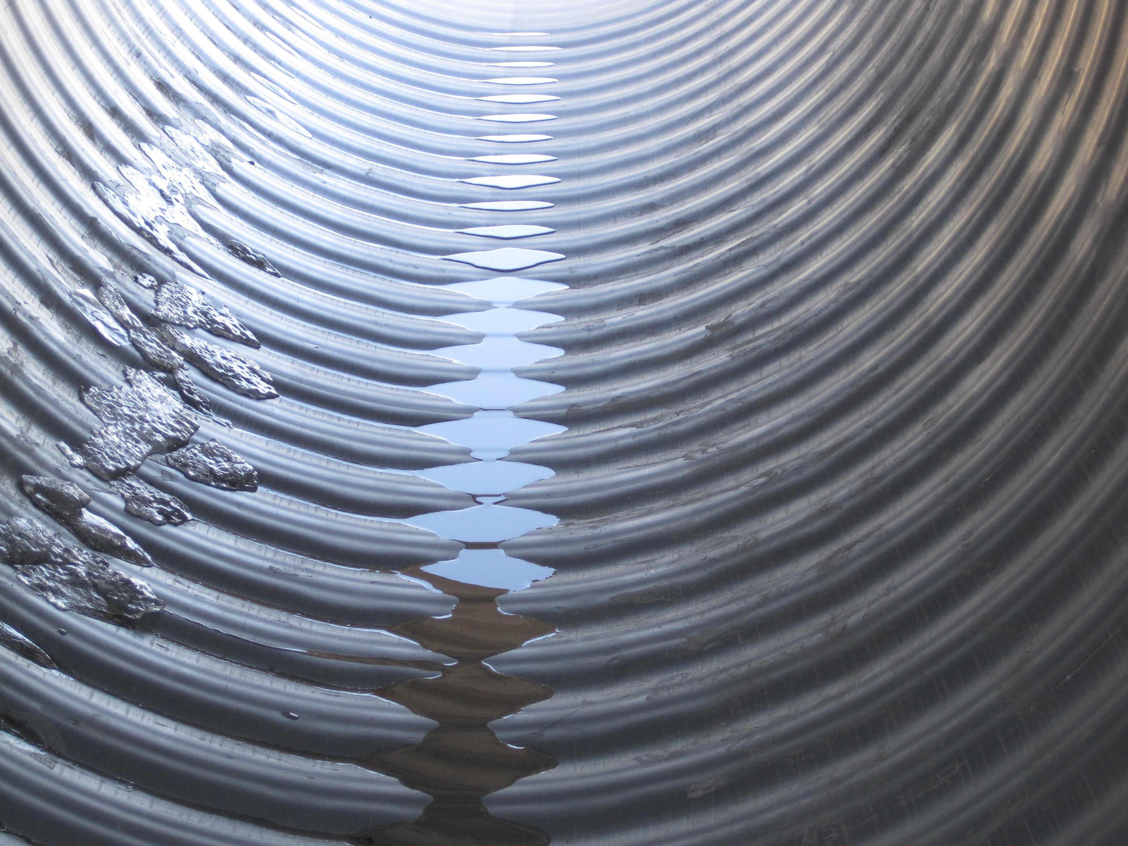 corrugated plastic pipe