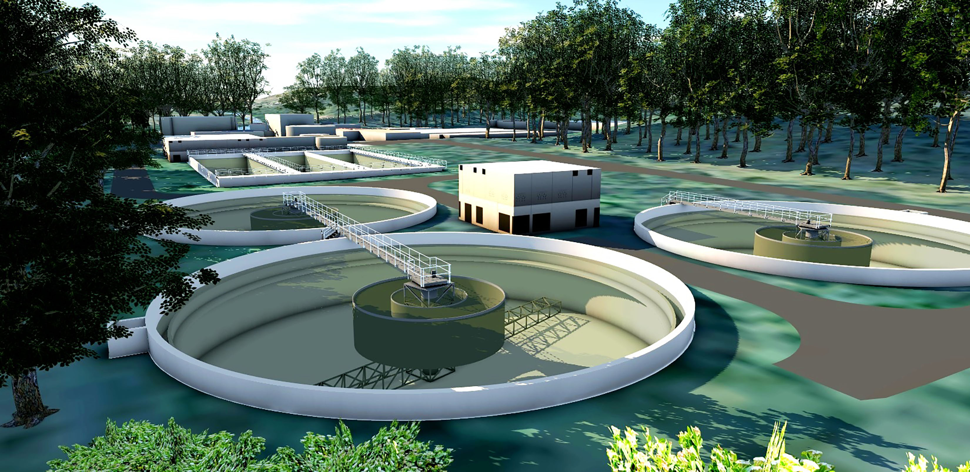 design of wastewater treatment plant environmental sciences essay After treatment at a wastewater treatment plant, the treated wastewater (also called effluent) is discharged to a receiving water body the terms wastewater reuse or  water reclamation  apply if the treated waste is used for another purpose.