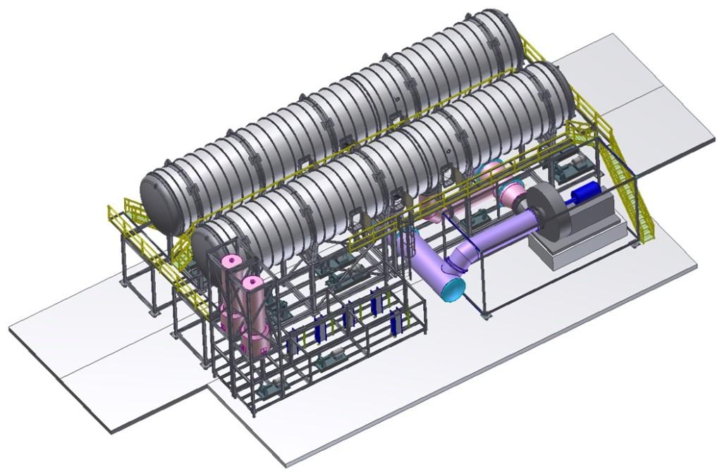 Modular MVC-3000 m3/day.