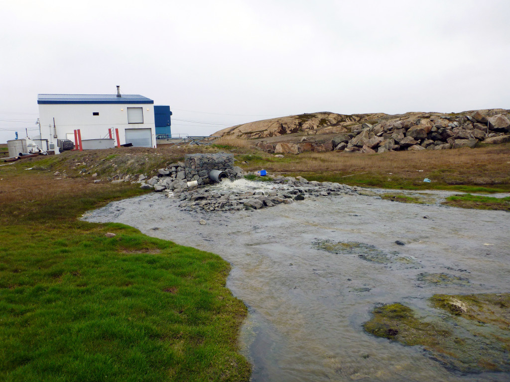 Iqaluit wastewater treatment plant