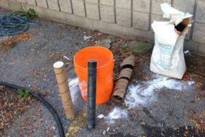 Reagent cylinder installation for remediation
