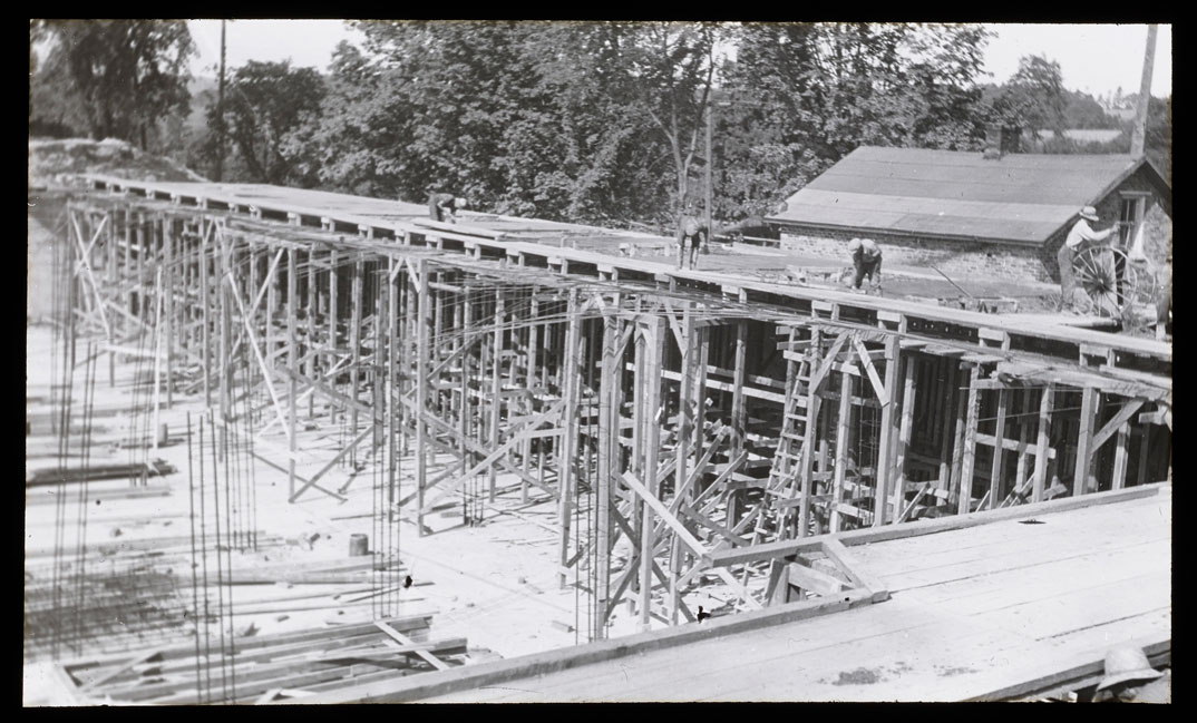 Ex. Reservoir construction (1920s)