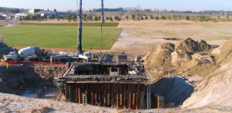 Wyndance SBR plant construction