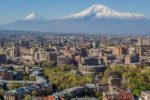 Skyline of Yerevan