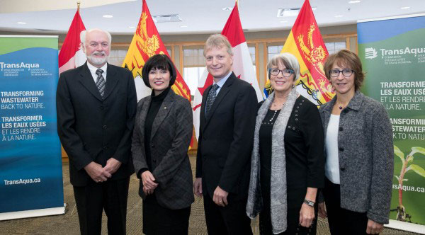 Announcing funding for New Brunswick water and wastewater projects