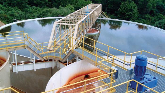 industrial water reuse tank