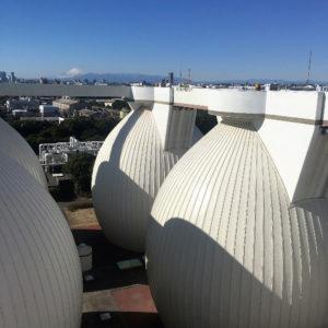 Yokohama wastewater treatment plant