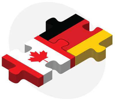 Canada and Germany. Adobe Stock, Aleksandar Mijatovic.