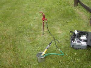 sampling-groundwater-contamination
