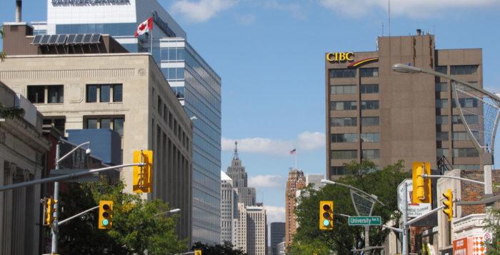 Downtown, Windsor, Ontario