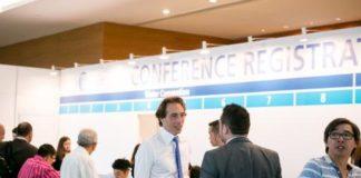 registration at Singapore International Water Week