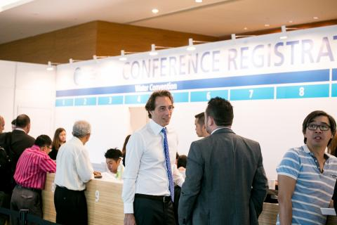 registration at Singapore International Water Week