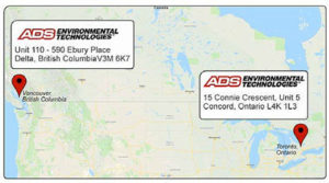 ADS Canada offices