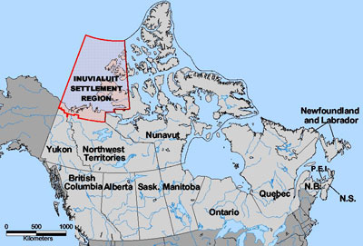 Inuvialuit-Settlement-Region-Map
