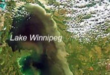 Lake Winnipeg satellite