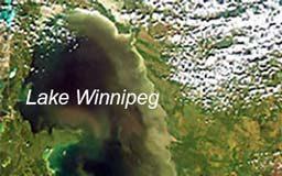 Lake Winnipeg satellite