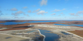Tundra Mine remediation site