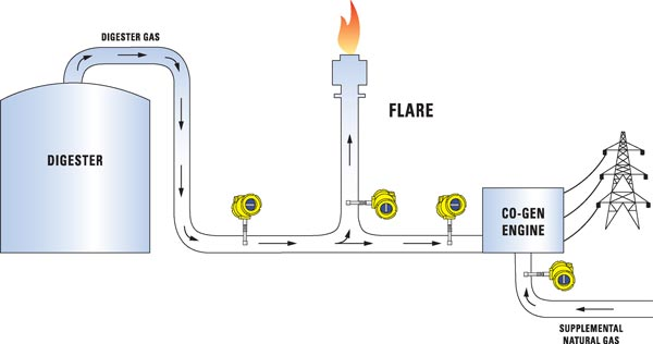 biogas system diagram