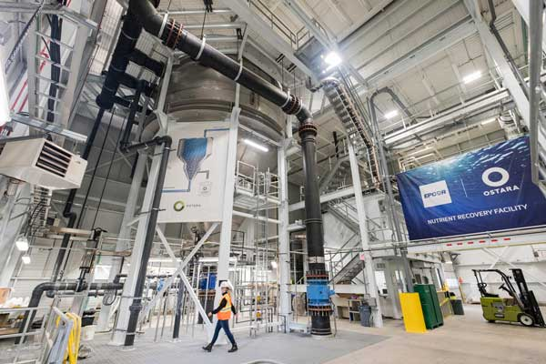 EPCOR's Nutrient Recovery Facility