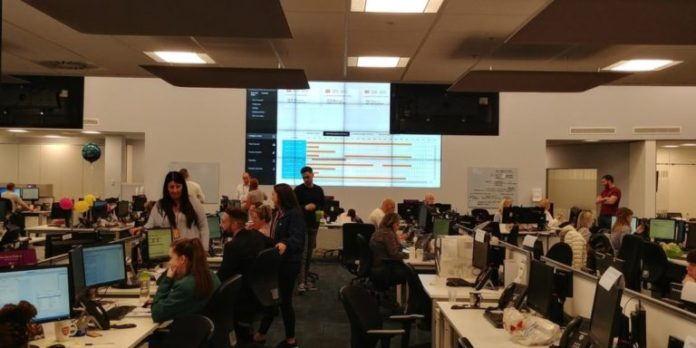 EMAGIN in United Utilities Control Room