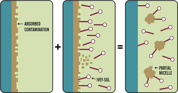 how Ivey sol surfactant works