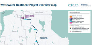 McLoughlin Point Wastewater Treatment Plant map