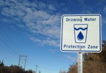 Drinking Water Source Protection Sign