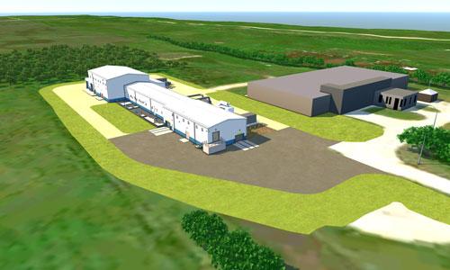 City of Selkirk wastewater plant rendering