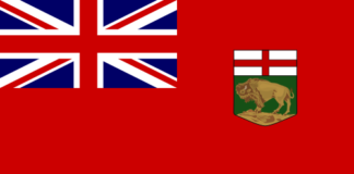 Manitoba provincial flag