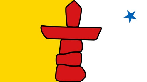 The Flag of Nunavut