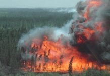 Alberta-wildfire