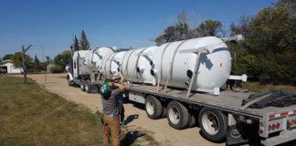 Craik water tanks
