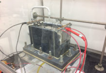 Benchtop electro-oxidation cell