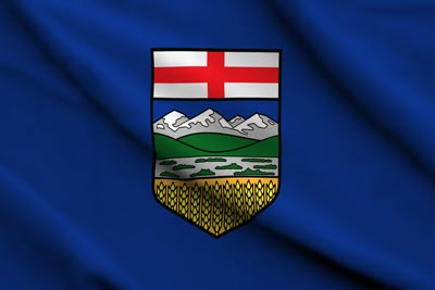 Stock Alberta Flag
