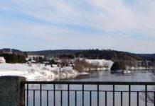 Quebec river photo