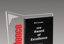 BSI Canada Award of Excellence
