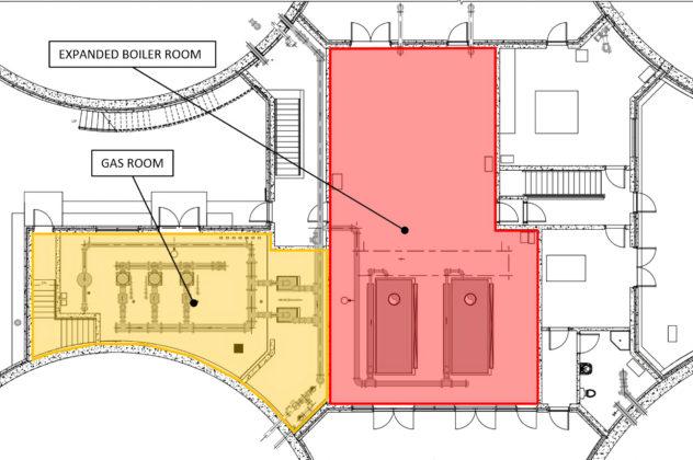 digester control building ground floor diagram