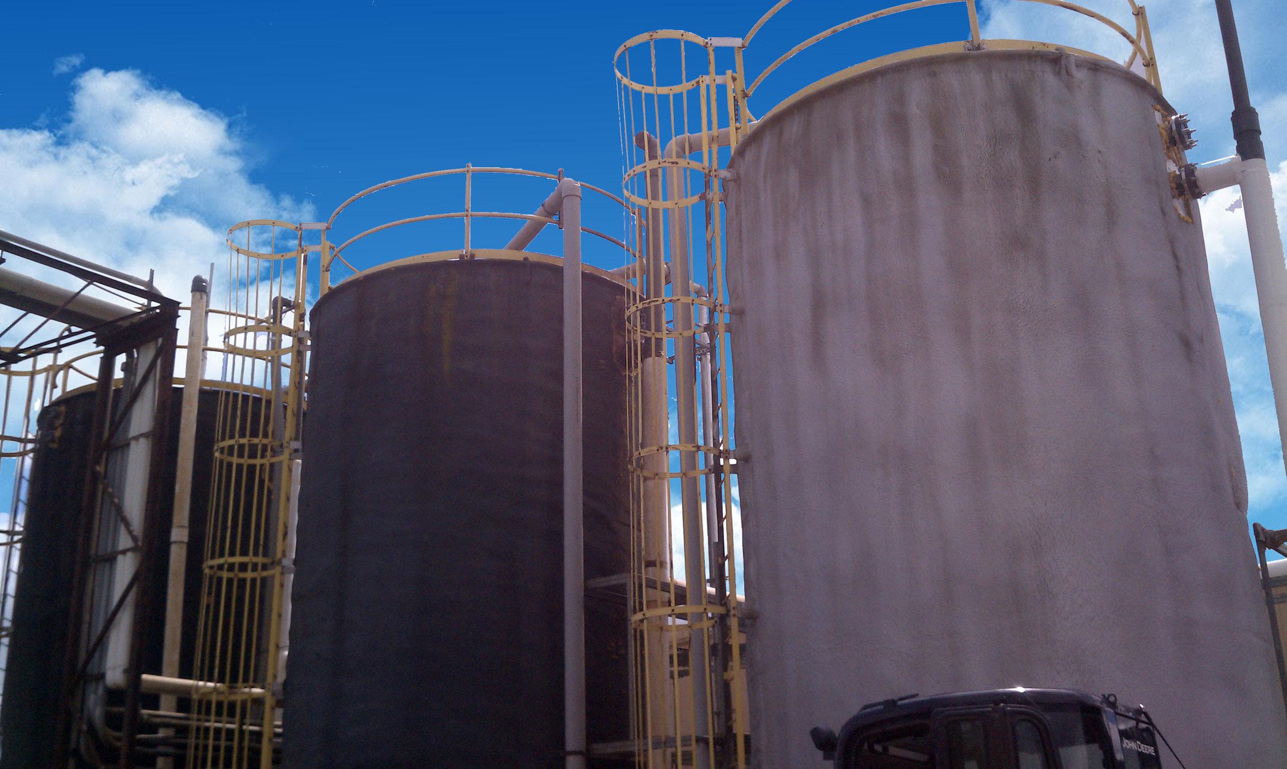 BioPortz reactor tanks