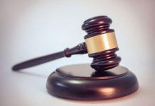 Legal Gavel stock image